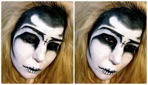 scary makeup an error occurred grim reaper a super easy tutorial