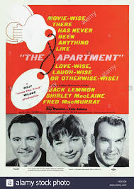The Apartment Movie Poster Stock Photo 124159090 Alamy