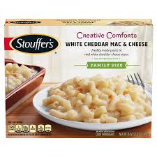 stouffer s family size white cheddar macaroni cheese 35 oz box pasta meals meijer grocery pharmacy home more