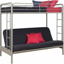 Bunk Bed Dhp Twin Over Futon Metal Bunk Bed Multiple Colors Walmartcom