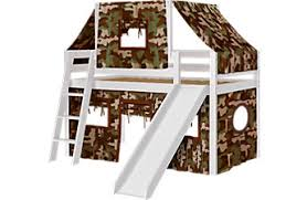 bunk bed with slide and desk. Perfect Desk Camo Cabin White Jr Tent Loft Bed With Slide And Top For Bunk With And Desk