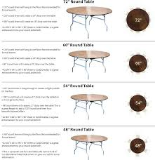 round table measurements best here it is your table linen sizing guide for wedding or in round table measurements