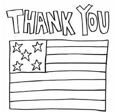 Thank You Military Coloring Pages Summer School 2015 Art Flair