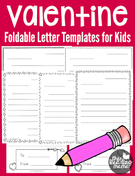 Valentines Day Letter Template Free Valentine Letter Templates For Kids Best Of This Reading Mama