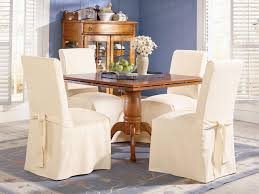 Linen Dining Room Chair Slipcovers Knock Off No Sew Dining Chairs Bless39er House I See These Chairs