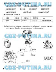 ГДЗ решебник по информатике класс рабочая тетрадь Матвеева Часть 1