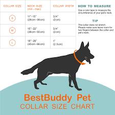 Puppy Collar Size Chart Bestbuddy Pet Fashion Designer Cartoon Unicorns And Rainbows Durable Nylon Ribbon Dog Collar Pet Collar Trendy Comfortable Adjustable Dog Collar With