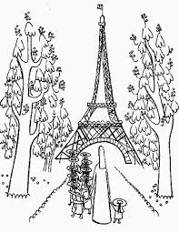 Small Picture Kindergarden Holiday at Eiffel Tower Coloring Page Download
