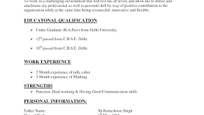 Examples Of Different Types Of Resumes List Of Resumes Job Reference