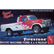 AMT 858 1978 Firestone Ford Pickup Truck model kit 1/25 ...