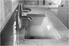 wide bathroom sink