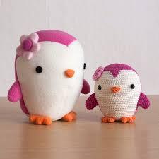 Penguin Crochet Pattern Simple Decoration
