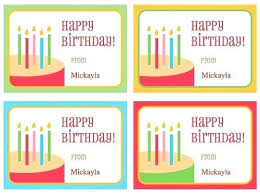 Birthday Tags Template Printable Birthday Gift Tags Templates Download Them Or Print