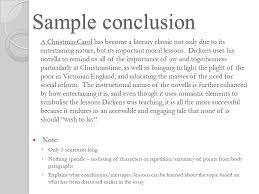 a christm as carol how to bake a cake a foundation recipe ppt  21 sample conclusion a christmas carol