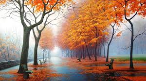 انشا در مورد یک روز بارانی پاییزی