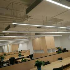 suspended linear lighting. Interesting Linear LED Linear Trunking System Suspended Light On Lighting I