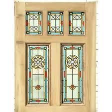 stained glass front doors reclaimed door home
