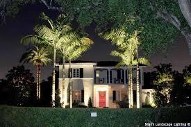 c gables front yard led lighting design