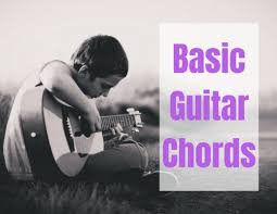 Guitar Chord Finger Chart Printable Basic Chord Diagrams And Finger Positions For The Acoustic