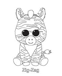 Beanie Boo Coloring Pages Kawaii Wwwpicswecom