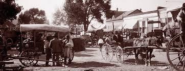 taos plaza looking northwest 1906