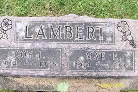 Coy Ivan Lambert (1904-1975) - Find A Grave Memorial