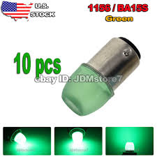 details about 10x green 1156 ba15s bulb 5630 led rv trailer car interior dome light 1073 1141