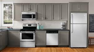 Kitchen Cabinets Refrigerator Kitchen Complete Kitchen Cabinet Set Ideas Grey Cabinets Color
