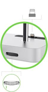 valet acirc cent charge dock for apple watch iphone adjustable lightning connector