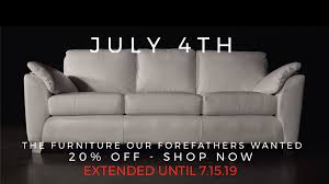 extended furniture promotion