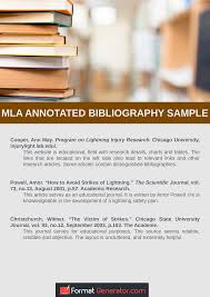 Annotated Bibliography Mla Format Generator Easybib Your Online