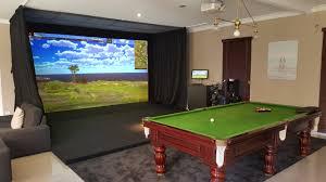 indoor activities indoor golf simulator