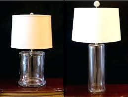 fillable glass lamp base glass table lamp glass lamps clear glass table lamp base large fillable glass lamp base