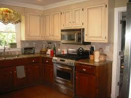 How To Paint Dark Brown Kitchen Cabinets White