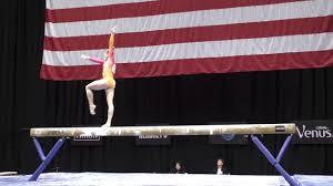 vault gymnastics gif. Rachel Gowey- Balance Beam - 2016 P\u0026G Gymnastics Championships Sr. Women Day 2 YouTube Vault Gif