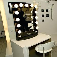 vanity desk mirror with lights. charming makeup table mirror lights. medium size of light bulb mirrors with bulbs vanity desk lights o