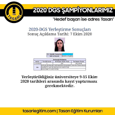 Tasarı Ankara - 2020 DGS ŞAMPİYONLARIMIZ... Özel Eğitim sistemimiz ile  2021'de Sen de Şampiyonumuz ol! www.tasarionlinegitim.com #dgs #dgs2020  #dgs2021 #dgs2020matematik #dgs2021matematik #dgs2020tayfa #dgs2021tayfa  #dgsonline #onlineeğitim ...
