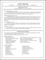 Resume Templates For Nurses Nursing Cv Template Nursing Resume Template Free Best Resume And 6