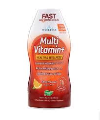 Nature's Way, <b>Multi Vitamin+</b>, <b>Sugar Free</b>, Citrus Flavored, (480 ml ...
