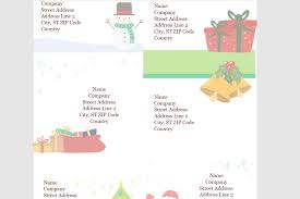 Holiday Address Label Templates Microsofts Best Free Diy Christmas Templates For 2019