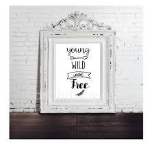 on baby nursery wall art prints with printable young wild and free baby nursery wall art print it baby
