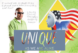 Unique As We Are Alike, Art by Ashley Minner and Alisha Locklear ...