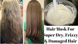 diy hair mask for super dry frizzy damaged hair cures dandruff promotes hair growth you