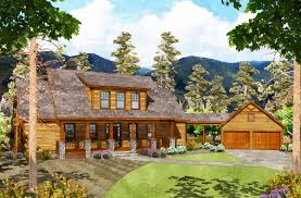 exclusive 3 bed mountain home with detached garage 29882rl plan contemporary home decor home breezeway garage office