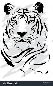 Les 25 Meilleures Id Es De La Cat Gorie Illustration De Tigre Sur