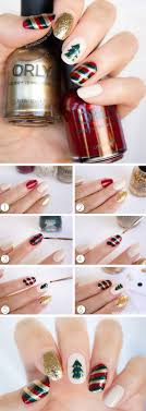 20 Adorable Christmas Nail Designs & Step by Step Tutorials | diybuddy