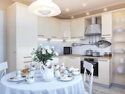 Small White Kitchen White Kitchen Table And Chairs Kitchen Dining Room Interior How