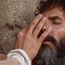 Image result for blind man Jesus