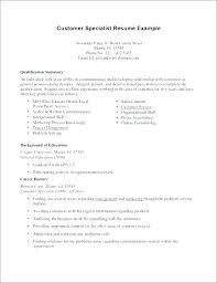 Career Summary Examples Resume Examples Career Summary Of A How To Write Statement Tips And