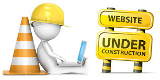 Image result for image of website under construction